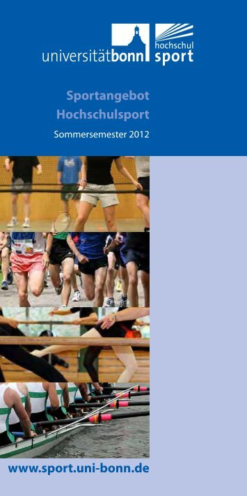 Sportangebot Hochschulsport - Hochschulsport - Universität Bonn