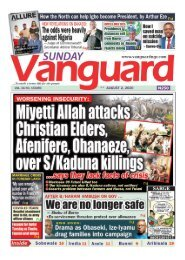02082020 - Miyetti Allah attacks Christain Elders, Afenifere, Ohanaeze over S/Kaduna Killings