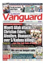 02082020 - Miyetti Allah attacks Christain Elders, Afenifere, Ohanaeze over S/Kaduna Killings