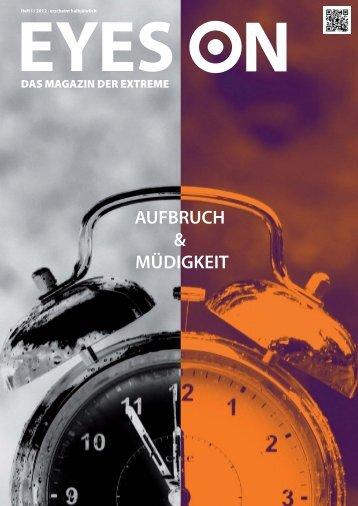 aufbruch & müdigkeit - MHMK Macromedia Hochschule für Medien ...