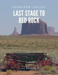 Last Stage to Red Rock, Flex Score