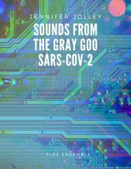 Sounds From The Gray Goo Sars-Cov 2 Score