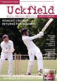 Uckfield Matters Magazine summer 2020