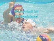 Wasserball im SV Rheinland