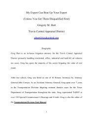 25th Annual Legal Seminar on Ad Valorem Taxation - Real Estate ...