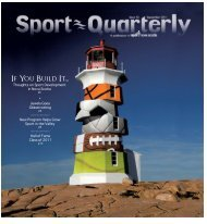 If You Build It... - Sport Nova Scotia