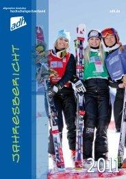 Jahresbericht 2011 - Allgemeiner Deutscher Hochschulsportverband
