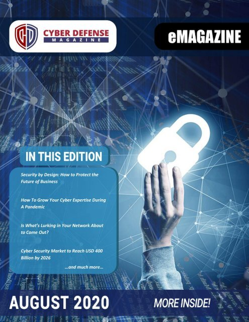 Cyber Defense eMagazine August 2020 Edition