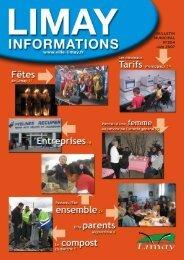 bulletin municipal 204 - juin 2007 - Ville de Limay