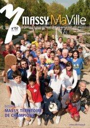 Massy Ma Ville - n° 157 - Mai 2011