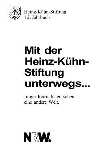 Mit der Heinz-Kühn- Stiftung unterwegs...