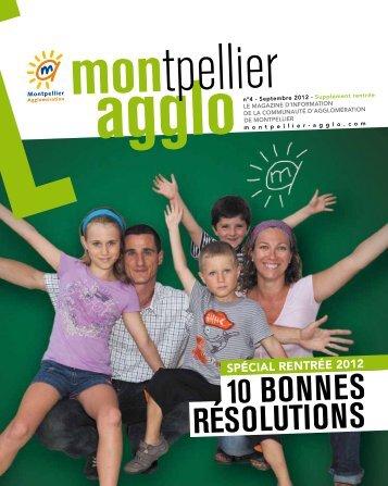 rentrée - Montpellier Agglomération