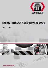 ATH-Heinl ERSATZTEILBUCH SPARE PARTS BOOK M72