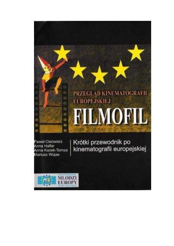 ksiazka filmofil - Stowarzyszenie Młodzi Europy