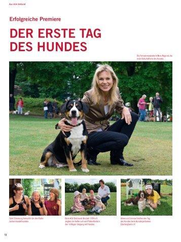 """beim Wettbewerb """"365 orte im Land der ideen"""" - Tag des Hundes"""