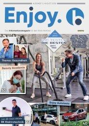 Enjoy. blickpunkt Ausgabe 5 | August 2020
