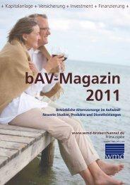 BAV-Magazin 2011 - WMD Verlag GmbH