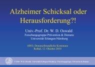Alzheimer Schicksal oder Herausforderung?! - AWO Kreisverband ...