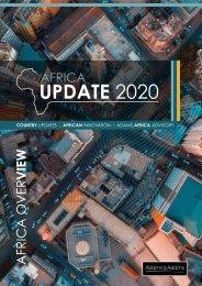 Adams Advisory - Africa Update 2020
