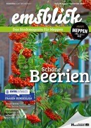 Emsblick Meppen Heft 39 (August/September 2020)