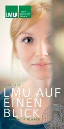 LMU AUF EINEN BLICK - Ludwig-Maximilians-Universität München