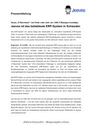 Pressemitteilung - PresseBox