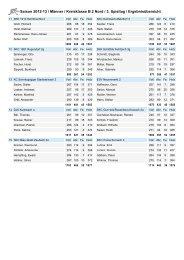 Saison 2012-13 / Männer / Kreisklasse B 2 Nord / 3. Spieltag ...