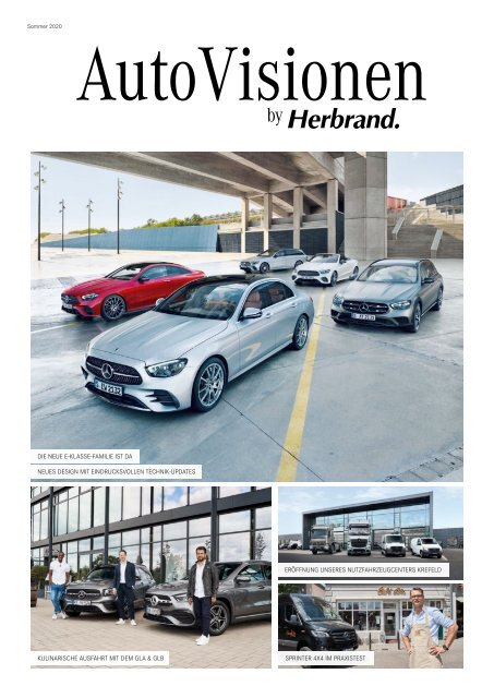 AutoVisionen 18 - Das Herbrand Kundenmagazin