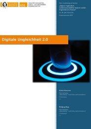 Digitale Ungleichheit 2.0 - Wolfgang Ruge