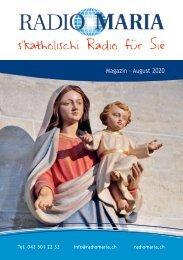 Radio Maria Magazin - August 2020