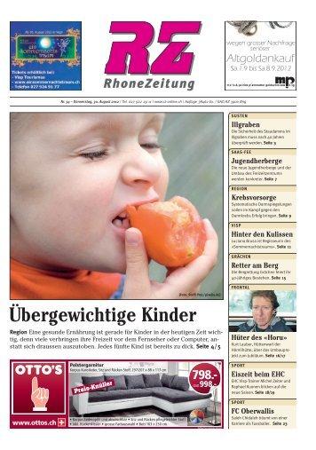 Download ePaper als PDF - Regional-Zeitung RZ