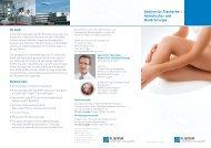 Flyer Plastische Chirurgie - Klinikum Friedrichshafen GmbH