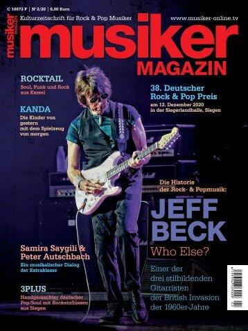 Musiker Magazin 2/2020