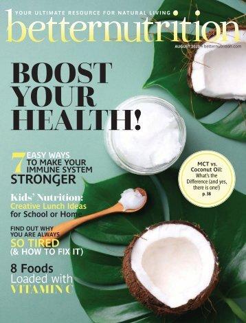 Better Nutrition August 2020