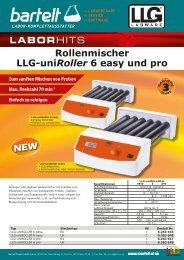 Laborhit: Rollermischer LLG-uniRoller 6 easy und pro