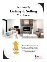The Process of Listing & Selling Your Home