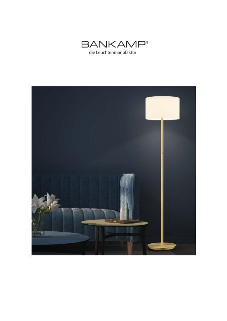 Bankamp - die Leuchtenmanufaktur - Katalog 2020/2021