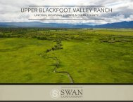 Historic Productive Cattle Ranch | 8,818 Total Acre Ranch for Sale near Lincoln, MT