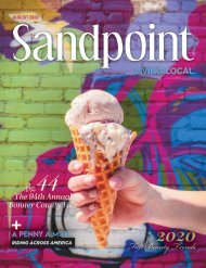 August 2020 Sandpoint Living Local 2020