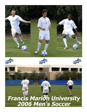 Francis Marion University 2006 Men's Soccer - ACS Integration: Home