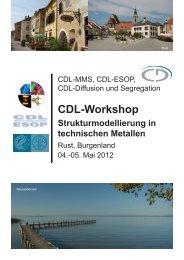 Programm 4. Mai 2012 - CDL