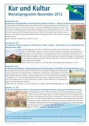 Kur und Kultur - mettnau