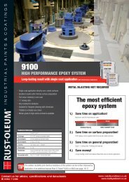 high performance epoxy system - Rustoleum Direct