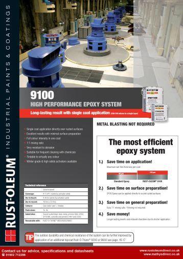 High Performance Epoxy : Epinamel high performance epoxies brochure wattyl web
