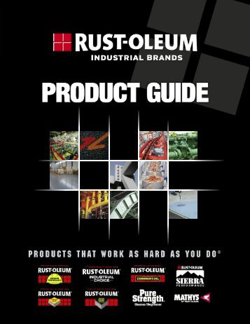 Rust-oleum Product Guide - Dynamic Sales Co Inc