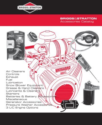 exhaust - Briggs & Stratton