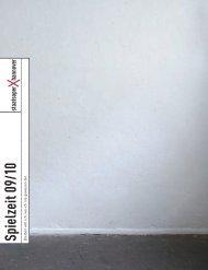 Spielzeit 09 10 - Niedersächsische Staatstheater Hannover