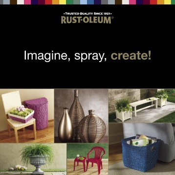Rust-Oleum Brochure.indd - Color My Life