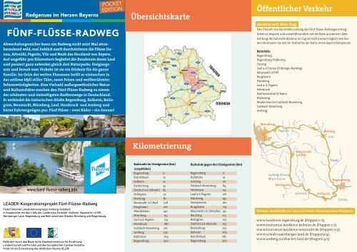 Pocket GuideFünf-Flüsse-Radweg