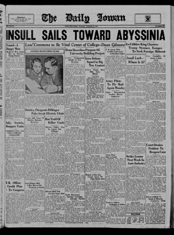 lnsull Luck--- Where Is It? - The Daily Iowan Historic Newspapers ...